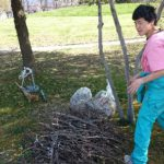 画像:炭房ゆるくらより お庭のお世話もお任せください!